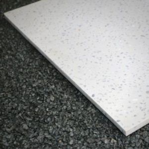 Terrazzo Caress White Marble LUX Керамическая Плитка Керамогранит