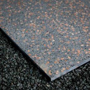 Terrazzo Gray Small Bit Керамическая Плитка Керамогранит